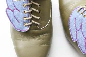diy shoe wings