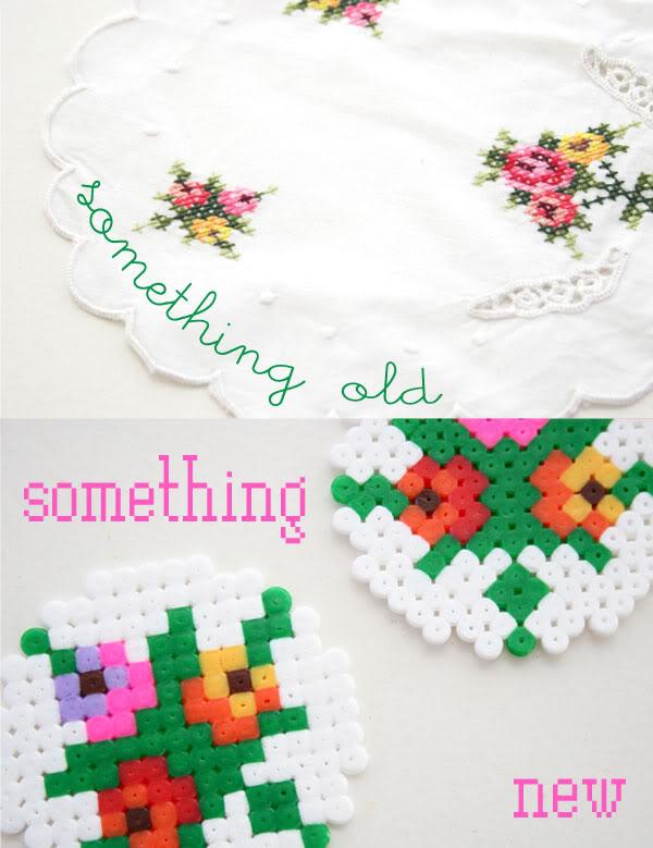 Hama bead Pixel Coaster - mypoppet.com.au
