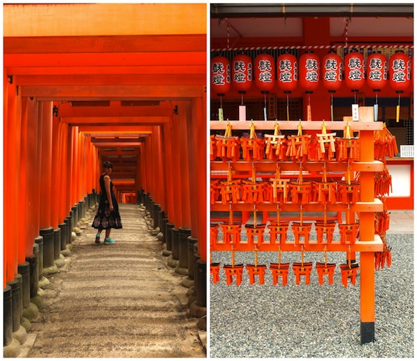 Fushimi Inari Shrine Kyoto, Japan.