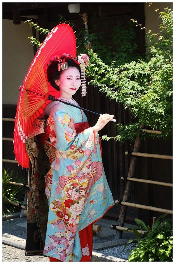 Meiko in Gion, Osaka