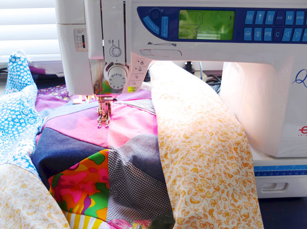 sewing machine quilting tutorial