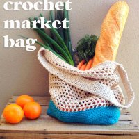 DIY Crochet Market Bag Pattern