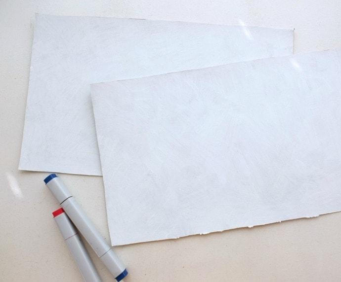 Airmail envelope supplies
