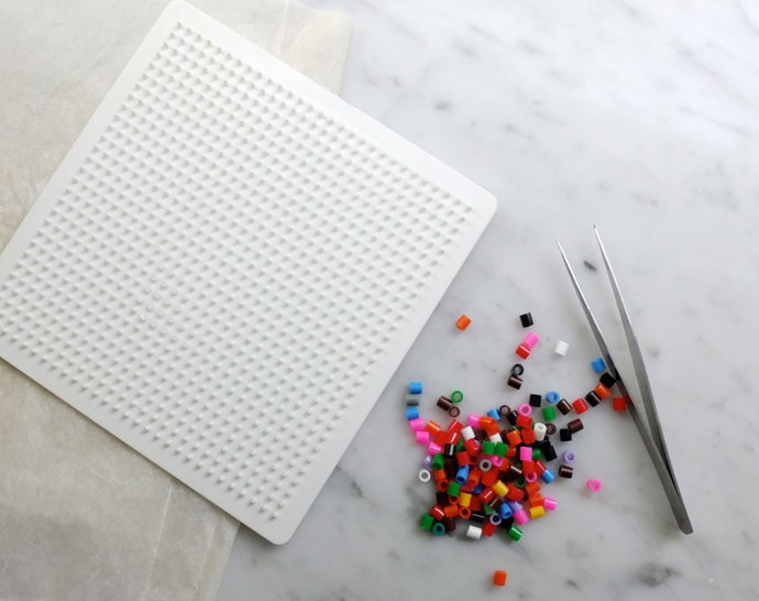 pearler bead and tray
