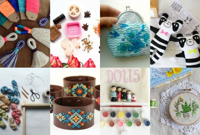 12 Crafty Kits that Make Perfect Christmas Gifts