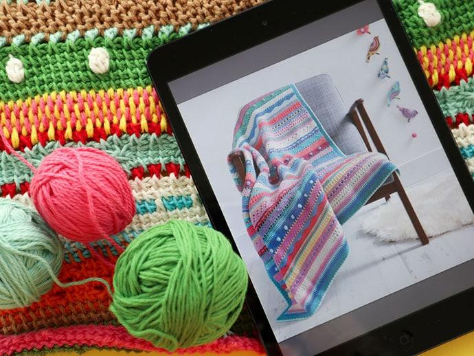 Craft Book Review - Tunisian Crochet Workshop