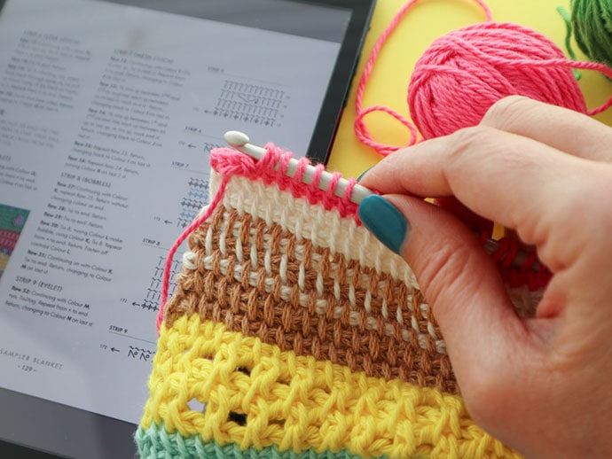 Craft Book Review: Tunisian Crochet Workshop | My Poppet Makes