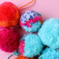 The Secret to making Super Fluffy Pom Poms