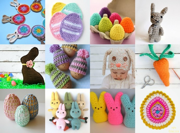 18 Adorable Easter Crochet Patterns