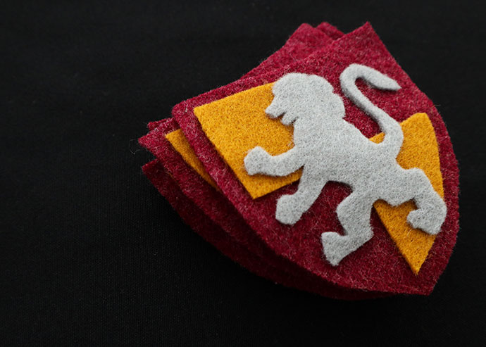 Diy Harry Potter Gryffindor Crest Patch With Template My