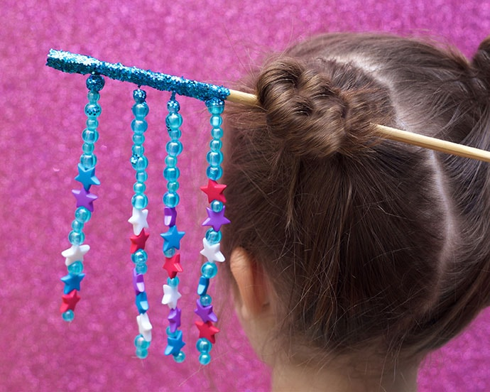 Bead Craft – DIY Chopstick Hair Accessory