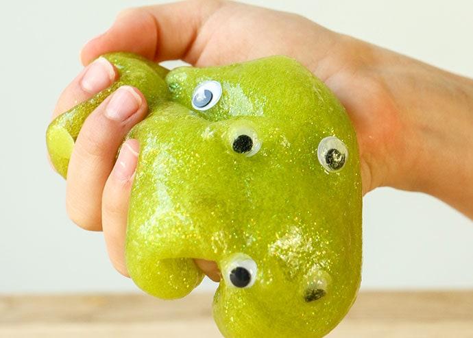 Halloween Googly Eye Slime - mypoppet.com.au