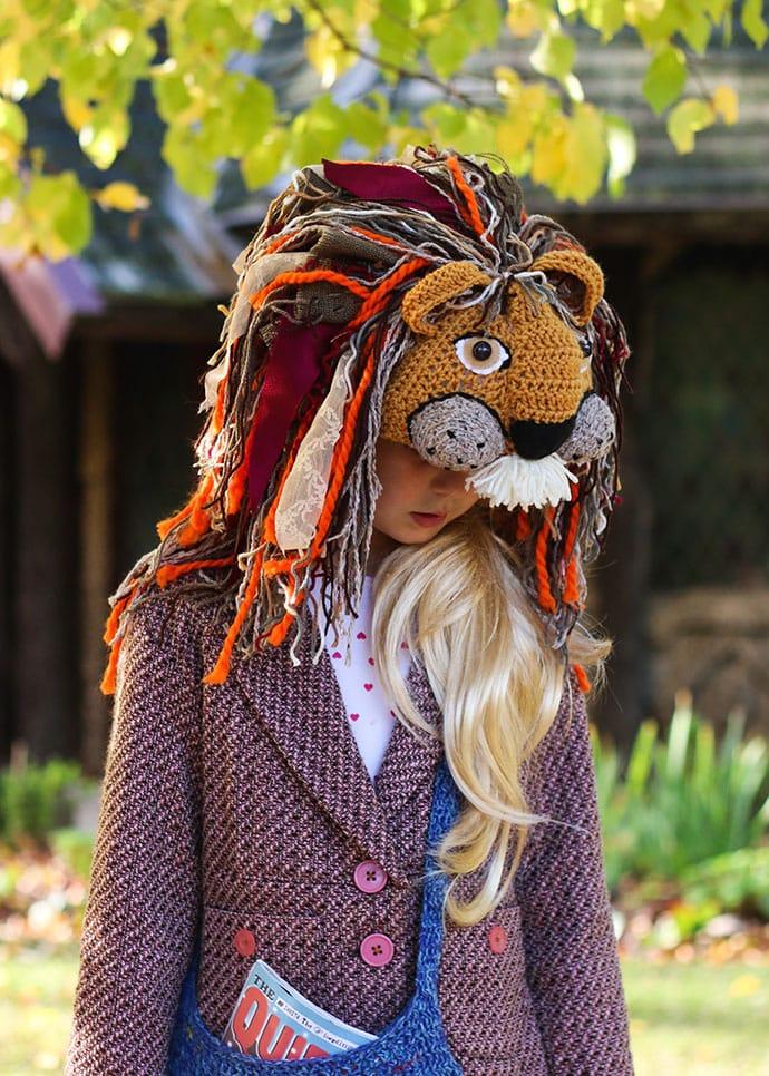 Luna Lovegood Cosplay Lion Hat - Mypoppet.com.au