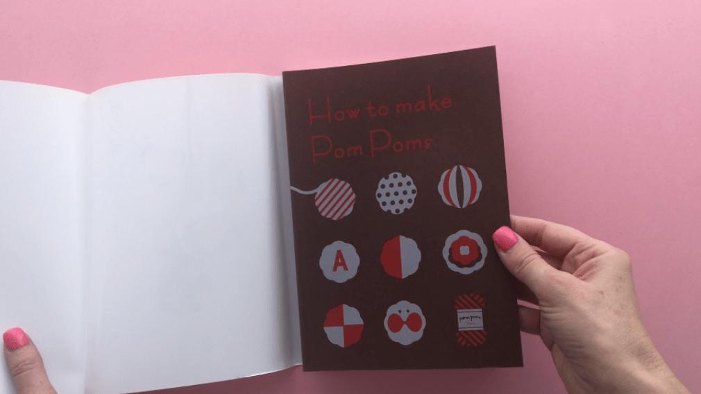 How to make pom poms book review - mypoppet.com.au