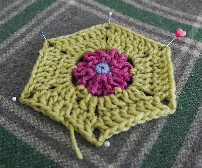 steam blocking crochet - mypoppet.com.au