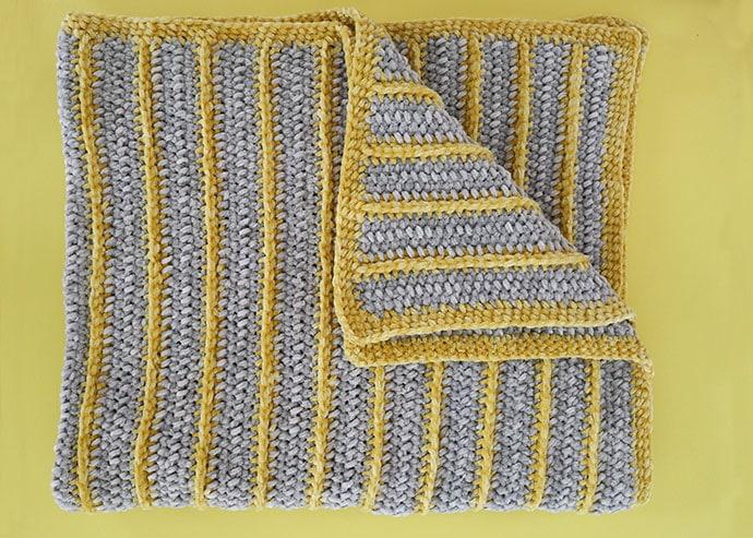 Bernat Baby Velvet Yarn – Baby Blanket Crochet Pattern