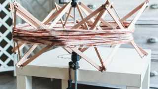 Handmade Beech Wood Swift Yarn Winder