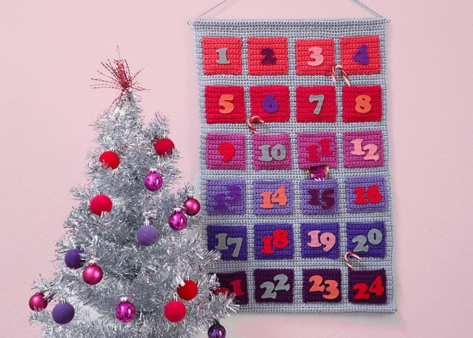 Modern Crochet Advent Calendar Pattern