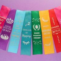#ISO Award Ribbons with Cricut Joy