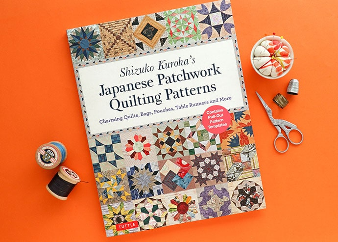 Book Review: Japanese Patchwork Quilting Patterns