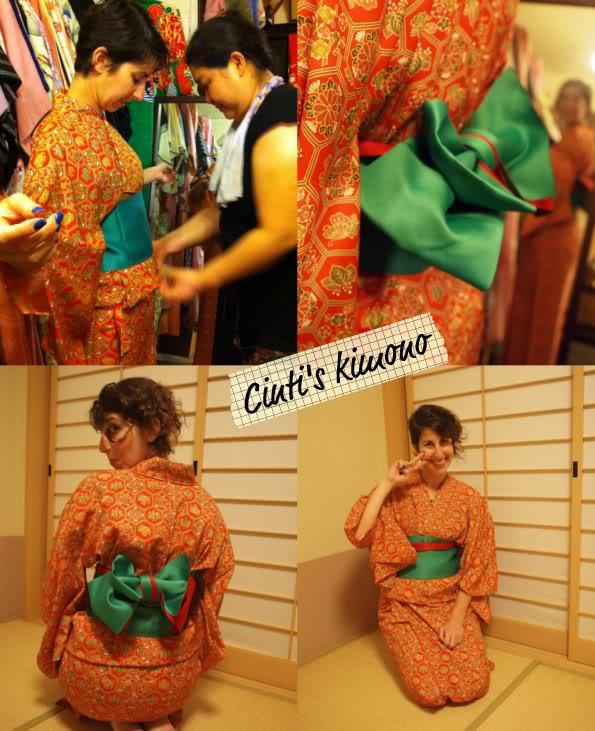Wearing a Kimono in Japan