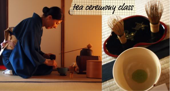 Tea ceremony class Kyoto Japan
