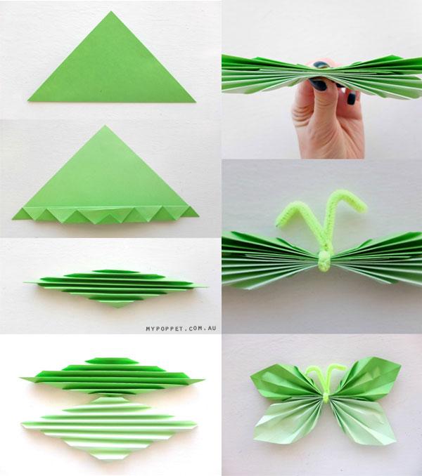 paper butterfly folding instructions