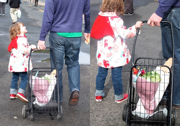 market shopping trolley