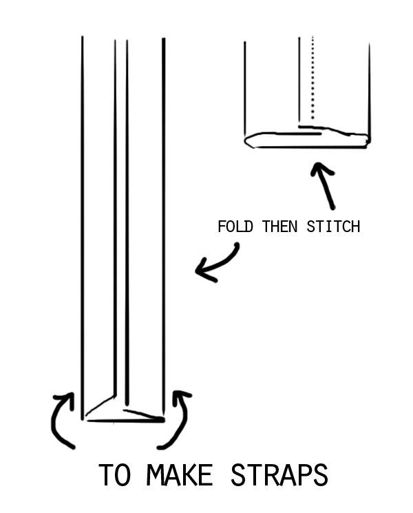 How to make bag handles