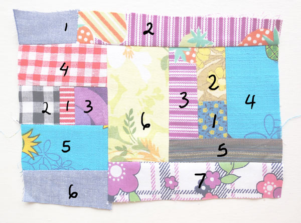 freestyle patchwork joining order