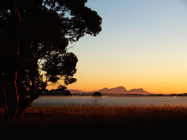 grampinas sunrise view