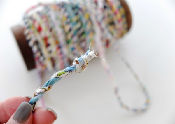Scrapbusting: How to make Fabric Twine | My Poppet Makes