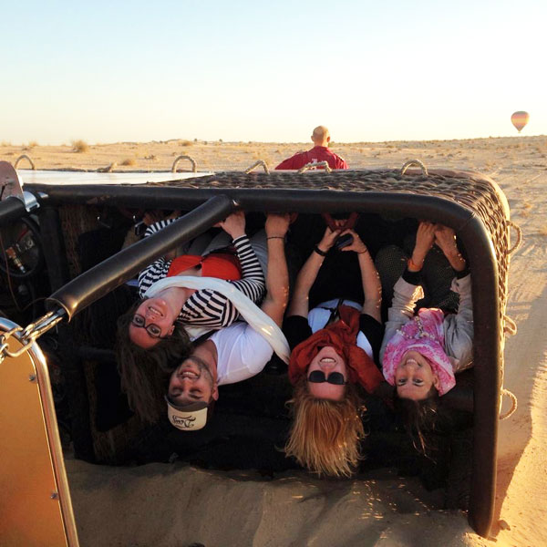 Hot air ballooning in dubai - sporty landing Mypoppet.com.au