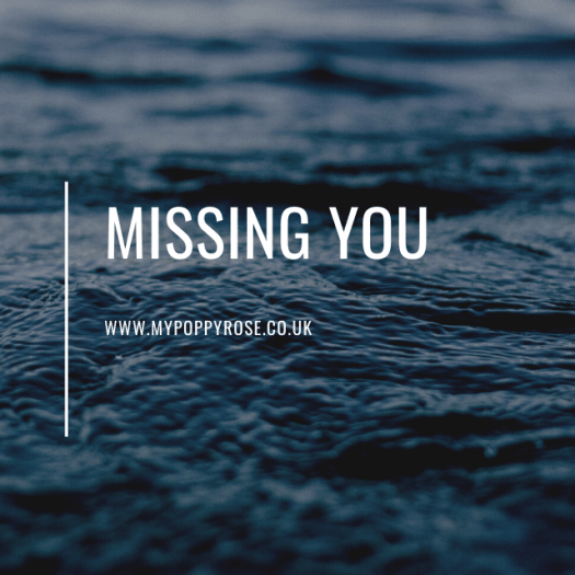 Quote: Missing you.