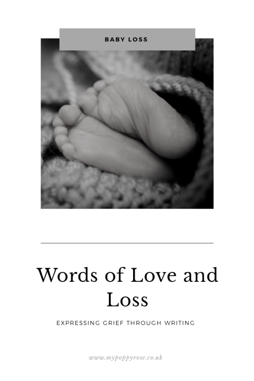 Page description: Words of love and loss