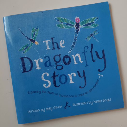 Book cover of The Dragonfly Story.