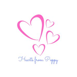 Logo: Hearts from Poppy.