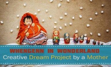 Whengenn in Wonderland Queenie Liao