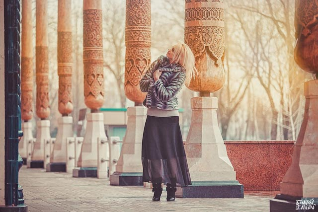 Girl in a Palace Portrait Photography