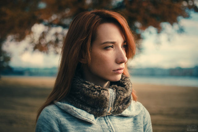 Girl Portrait Photograph Red Hairs