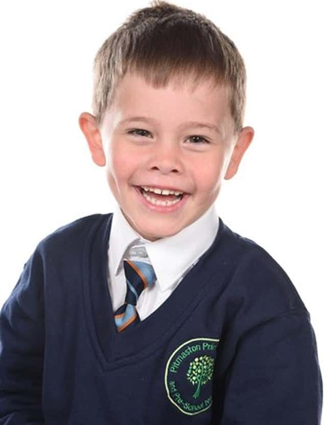 A photo of Oscar Saxelby-Lee before he was diagnosed with acute lymphoblastic leukemia