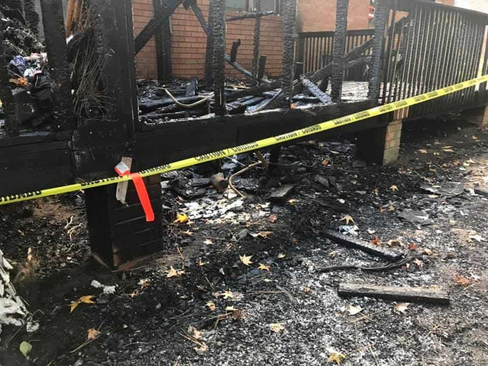 Taka's home burned to the ground