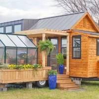 Tiny home with its own greenhouse might be your new dream sanctuary