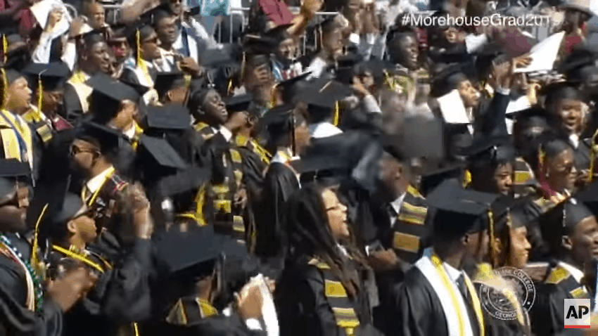 Ecstatic graduating class.