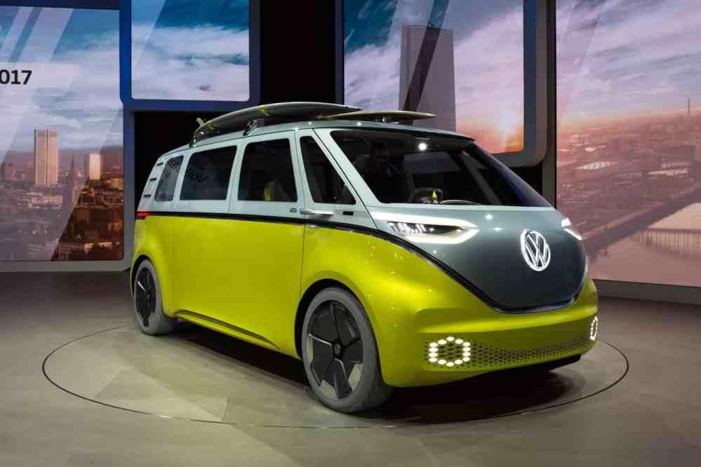 Volkswagen press conference, IAA 2017