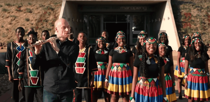 Choir performance from South Africa.