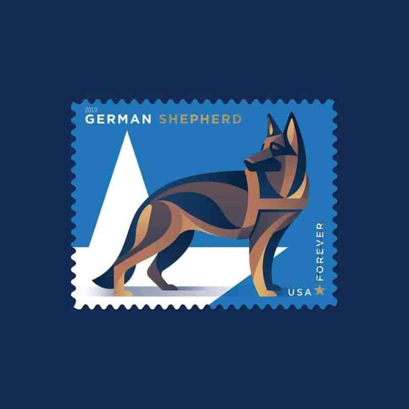 new stamp for military dogs