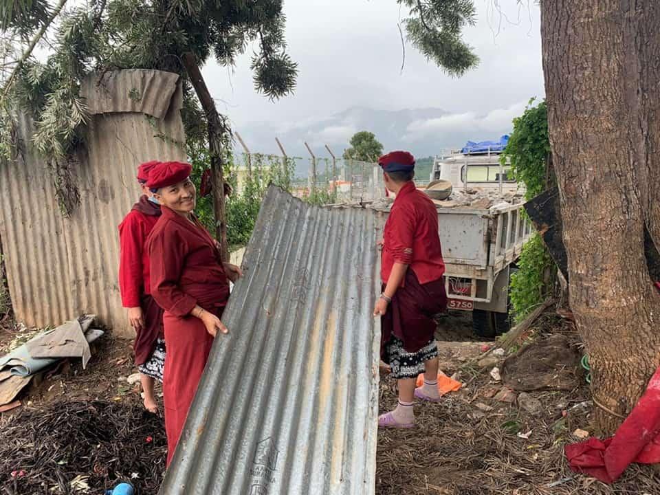 kung fu nuns helping the community