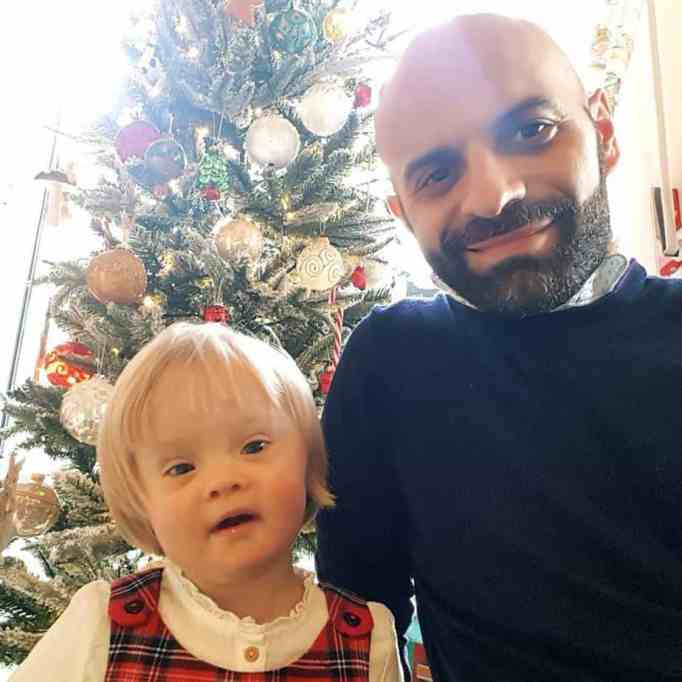 Single dad adopts girl with Down syndrome rejected by 20 families