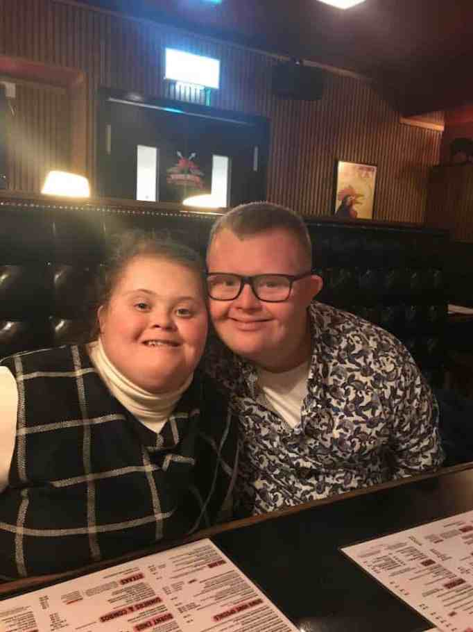 Young couple with Down syndrome overcome the odds.